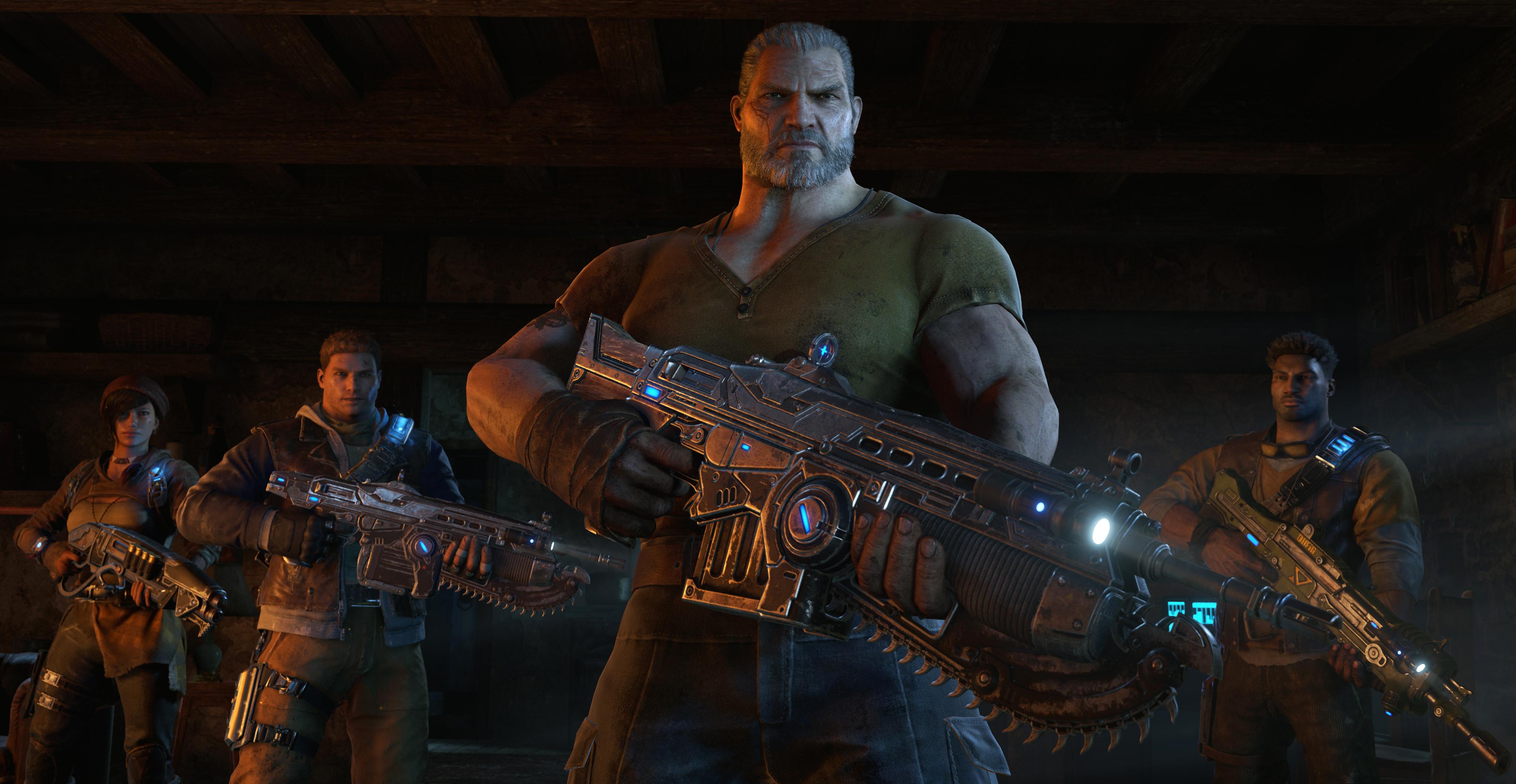 Dette er det nye Gears-gjengen som skal redde verdenen.