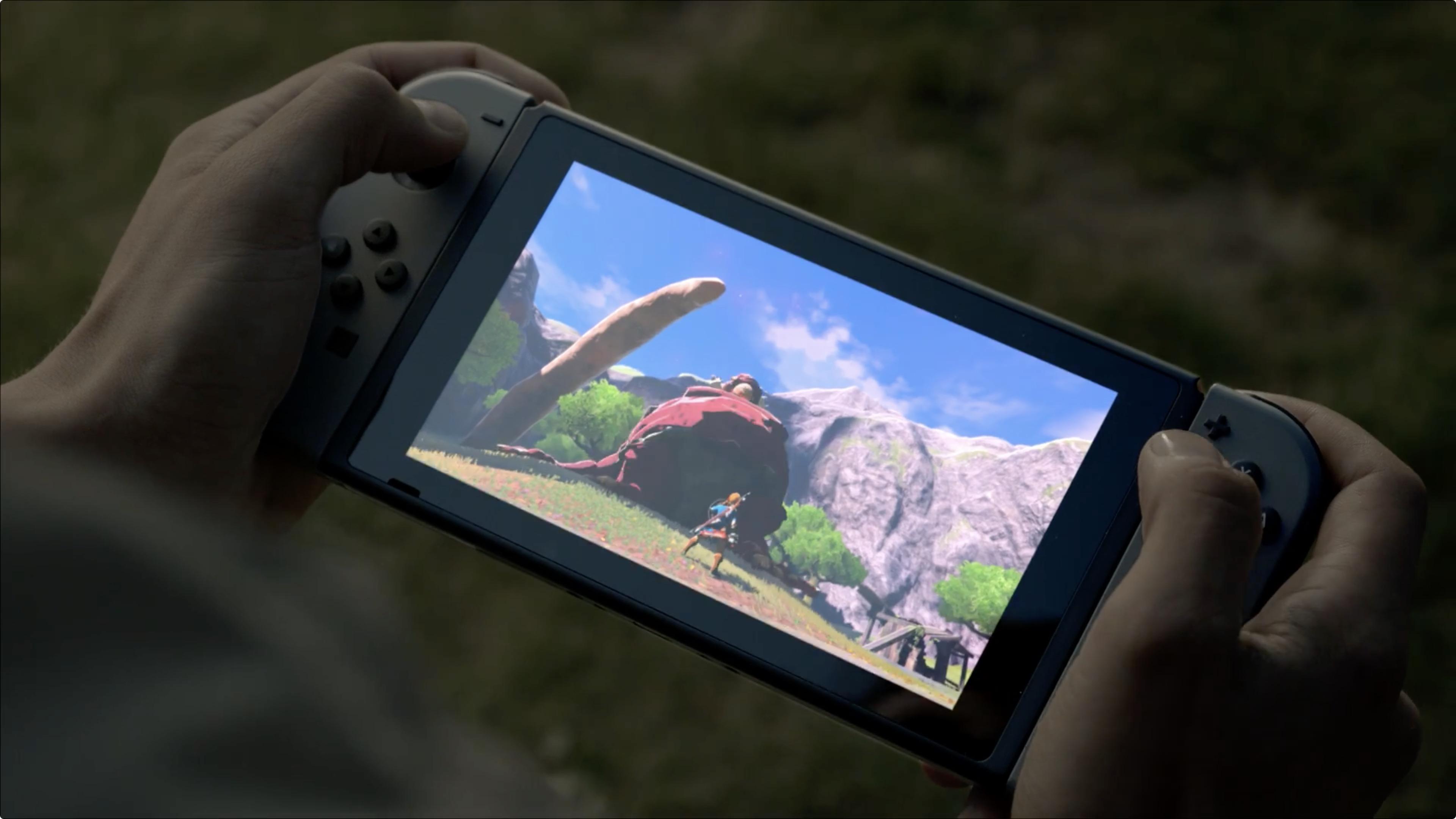 Nintendo ønsker ikke å svare på om Switch-skjermen er berøringsfølsom eller ei.