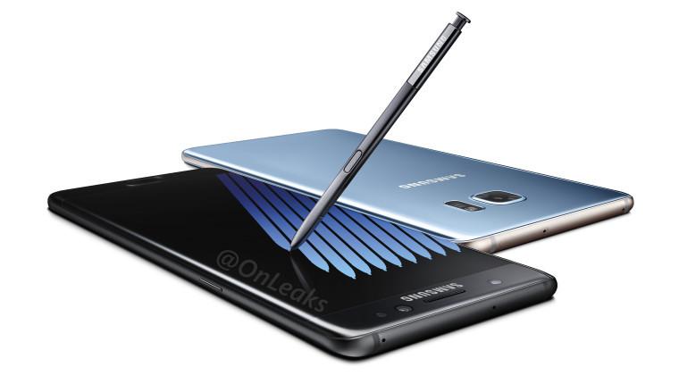 Samsung testet Note 7-batteriene selv.
