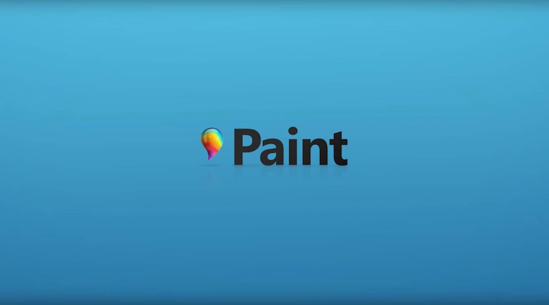 Paint kommer i ny drakt for Windows 10.