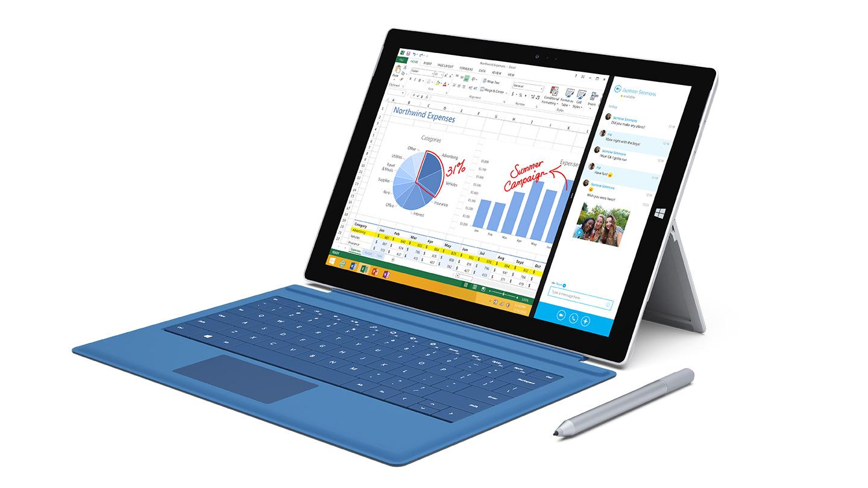 Surface Pro 3 får hard medfart i NFL.