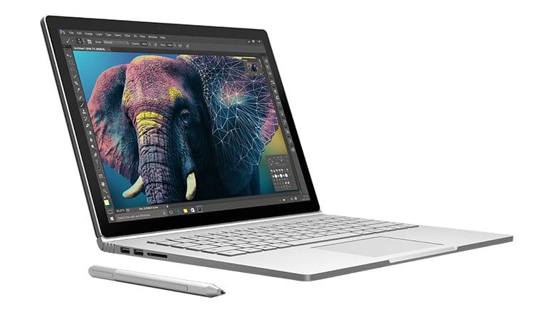 Dette er det nye Surface Book-bildet som har dukket opp i Microsofts nettbutikk.