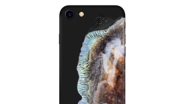 Nå kan iPhonen din se ut som en eksplodert Samsung Note 7.