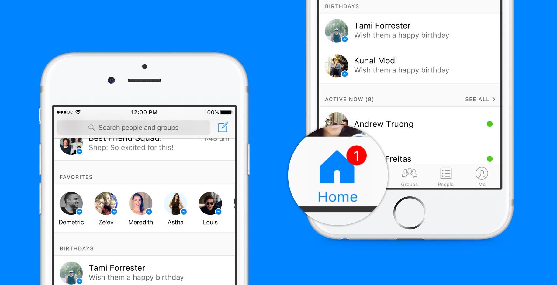 Facebook gjør stadig endringer med Messenger-appen.