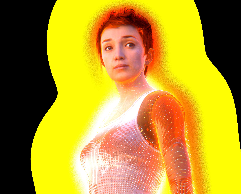 Cutter får hjelp av Isabel, den nye AI-en i Halo Wars 2 sin sidehistorie.