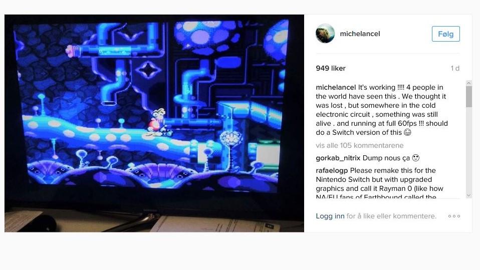 Etter 24 år i forsvunnet tilstand, er dette gamle Rayman-spillet tilbake.
