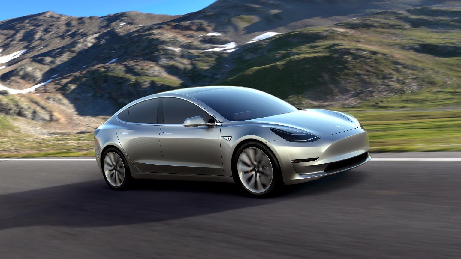 Det kan komme mer Model 3 nytt denne måneden.