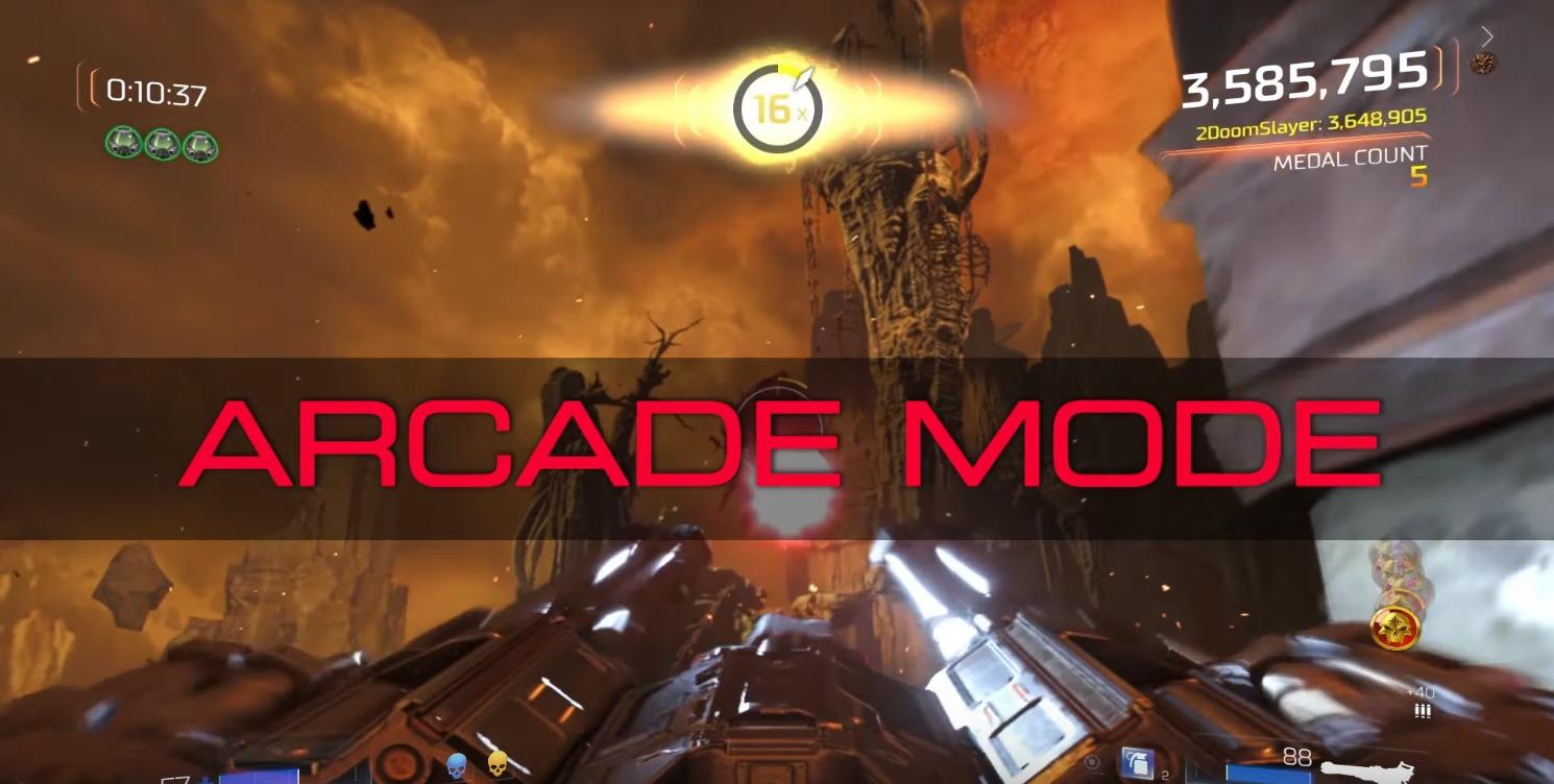 En ny Doom-oppdatering er ute med et helt nytt spillmodus.