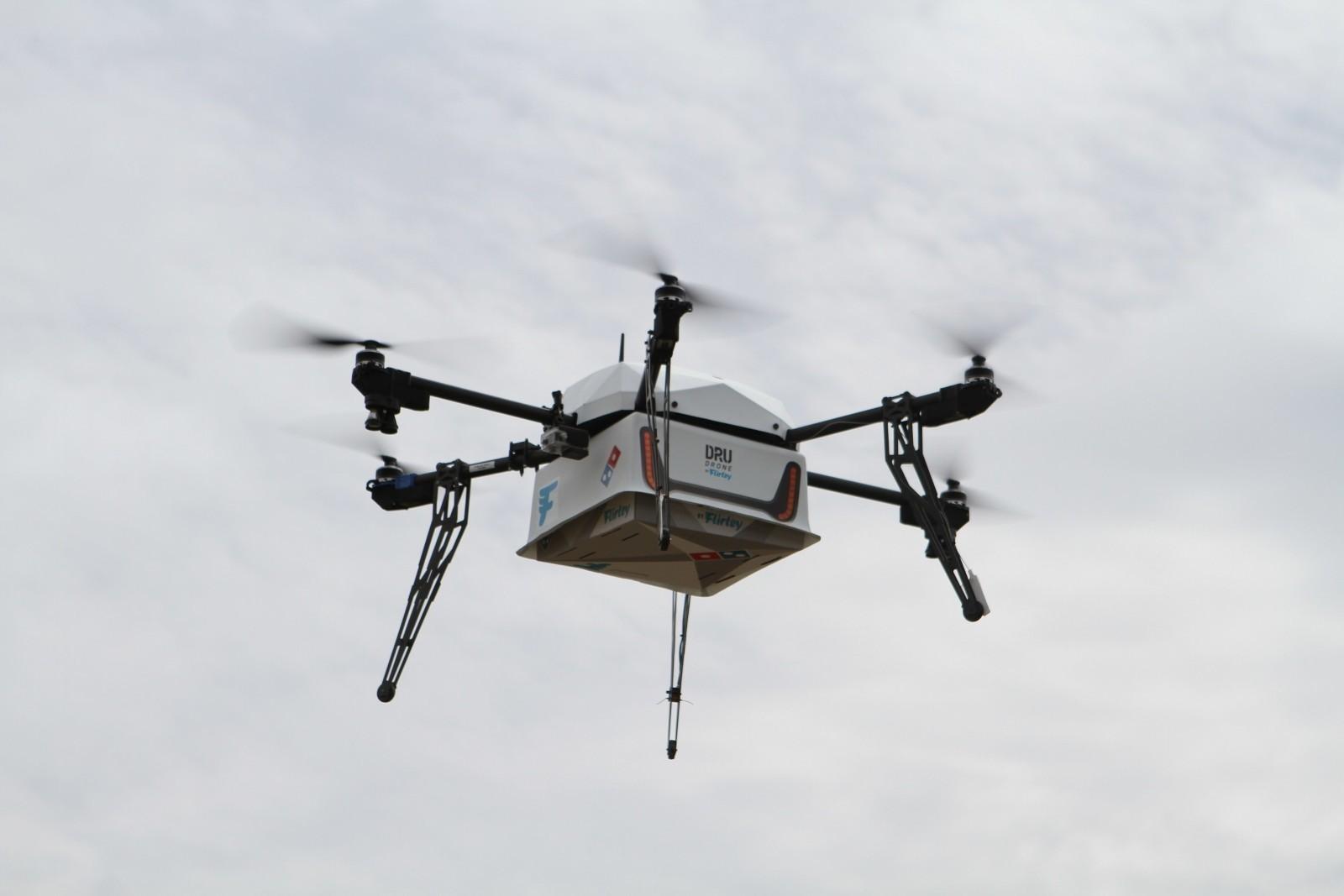 Domino's er klare til å levere pizzaer med drone i New Zealand.