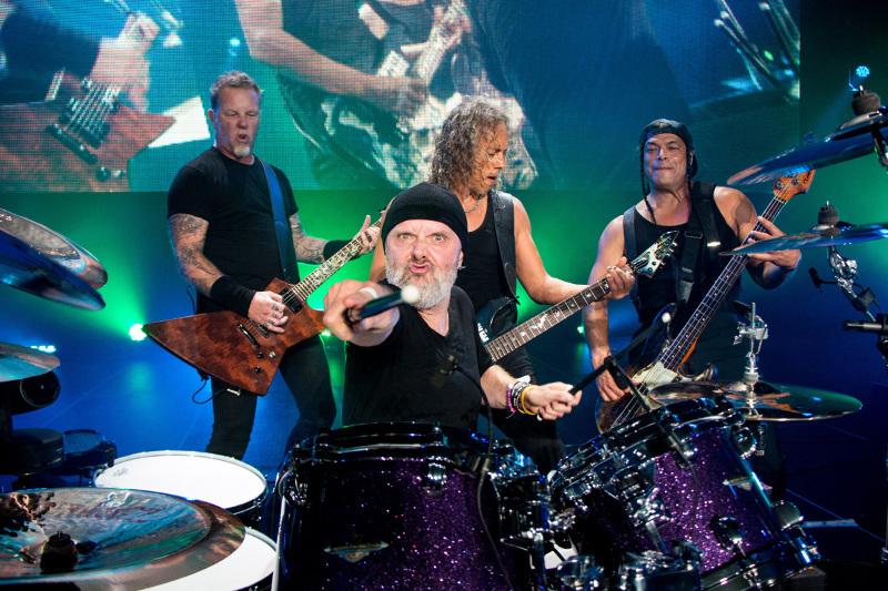 Metallica er snart tilbake på Napster. 16 år etter.