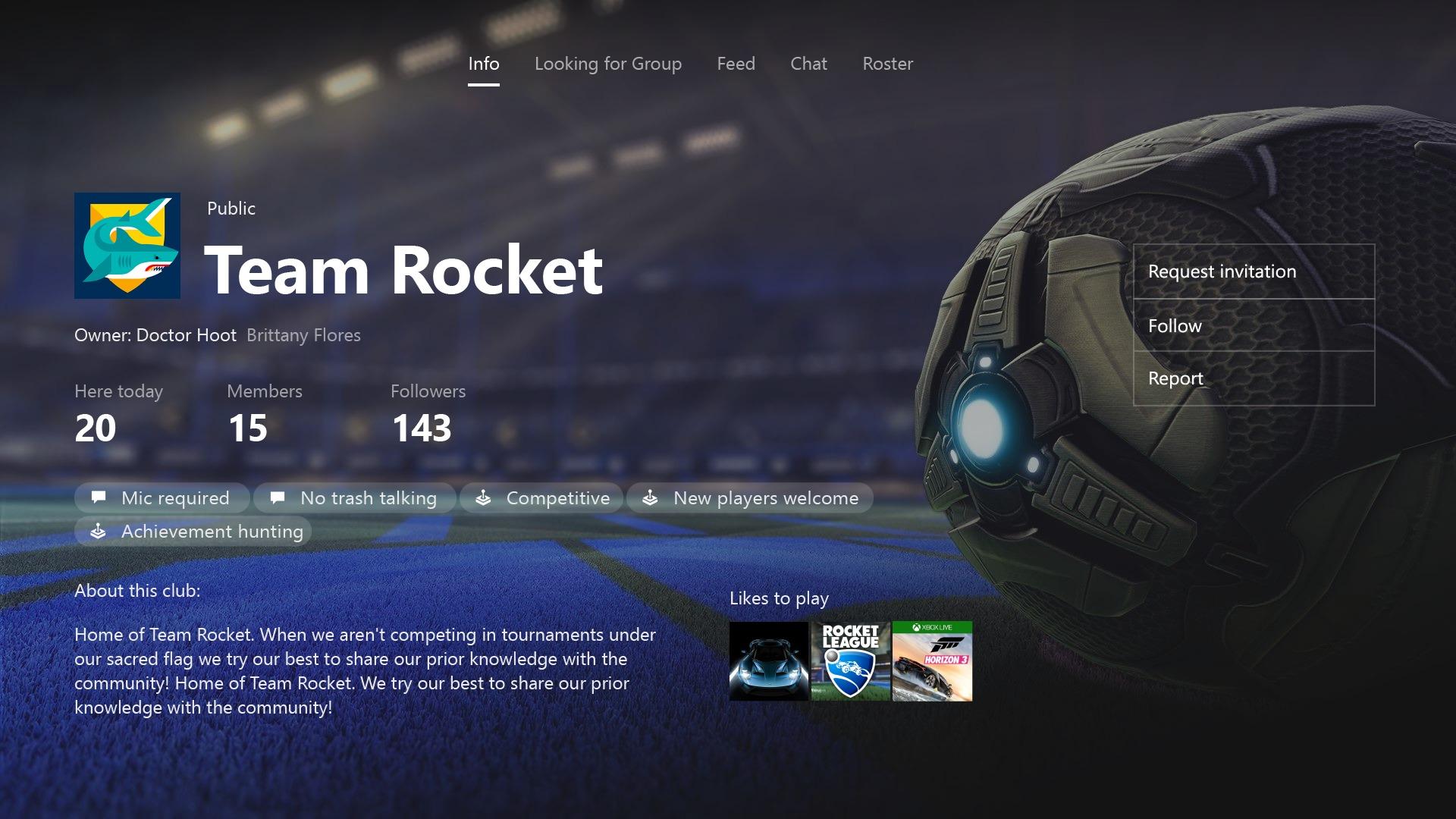 Endelig er Xbox-klubber lansert til alle.