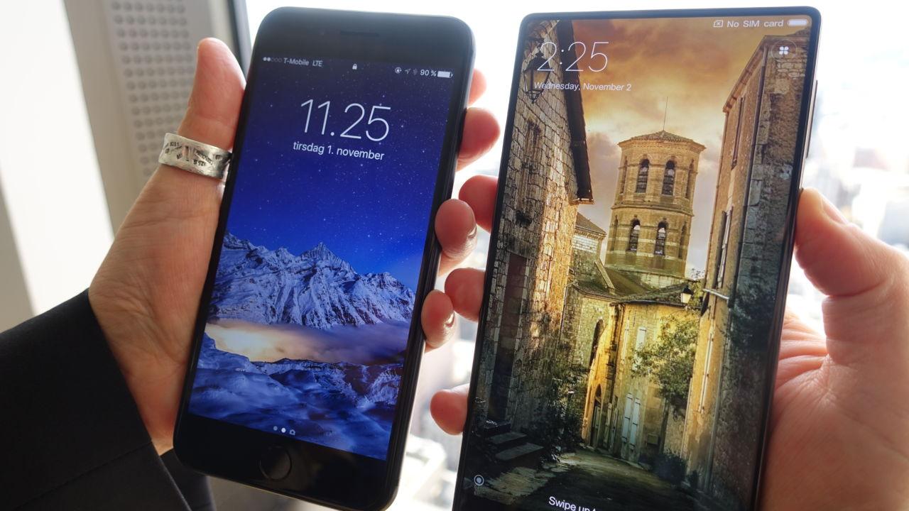 Flere kan følge etter Xiaomi og lansere mobil med rammeløs skjerm.