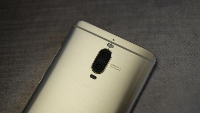 Mate 9 Pro har også doble kamerasensorer.