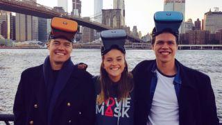 Slik er det å være grunder i New York med eget VR-filmheadset