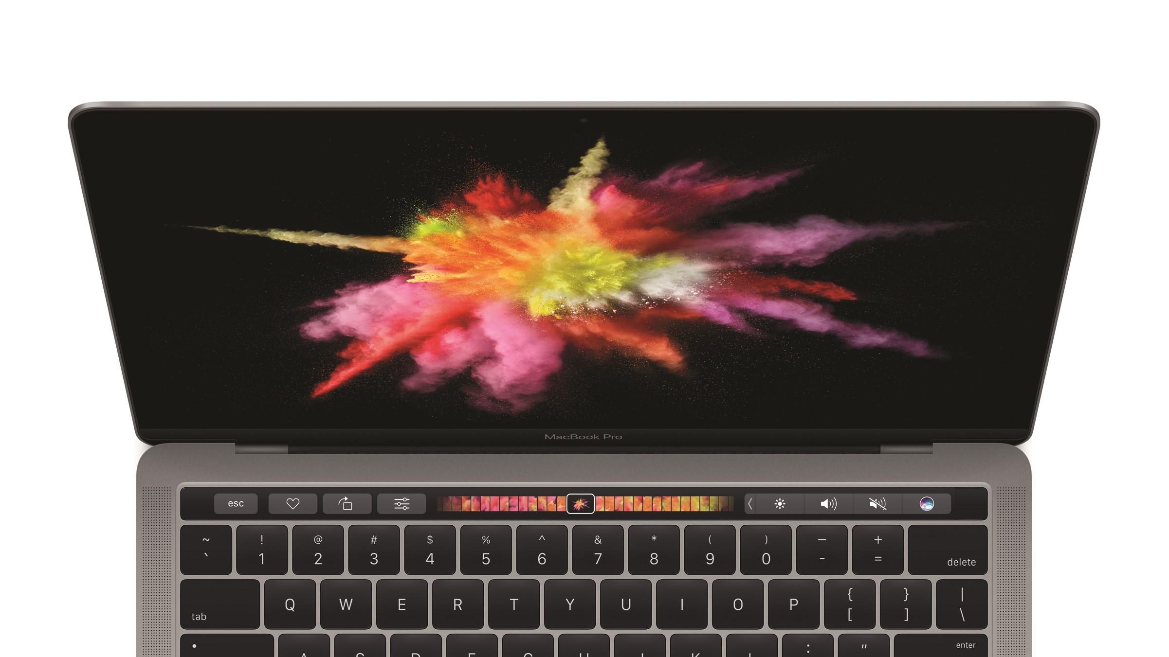 Nå kan du prøve Apples nye berøringsstripe.
