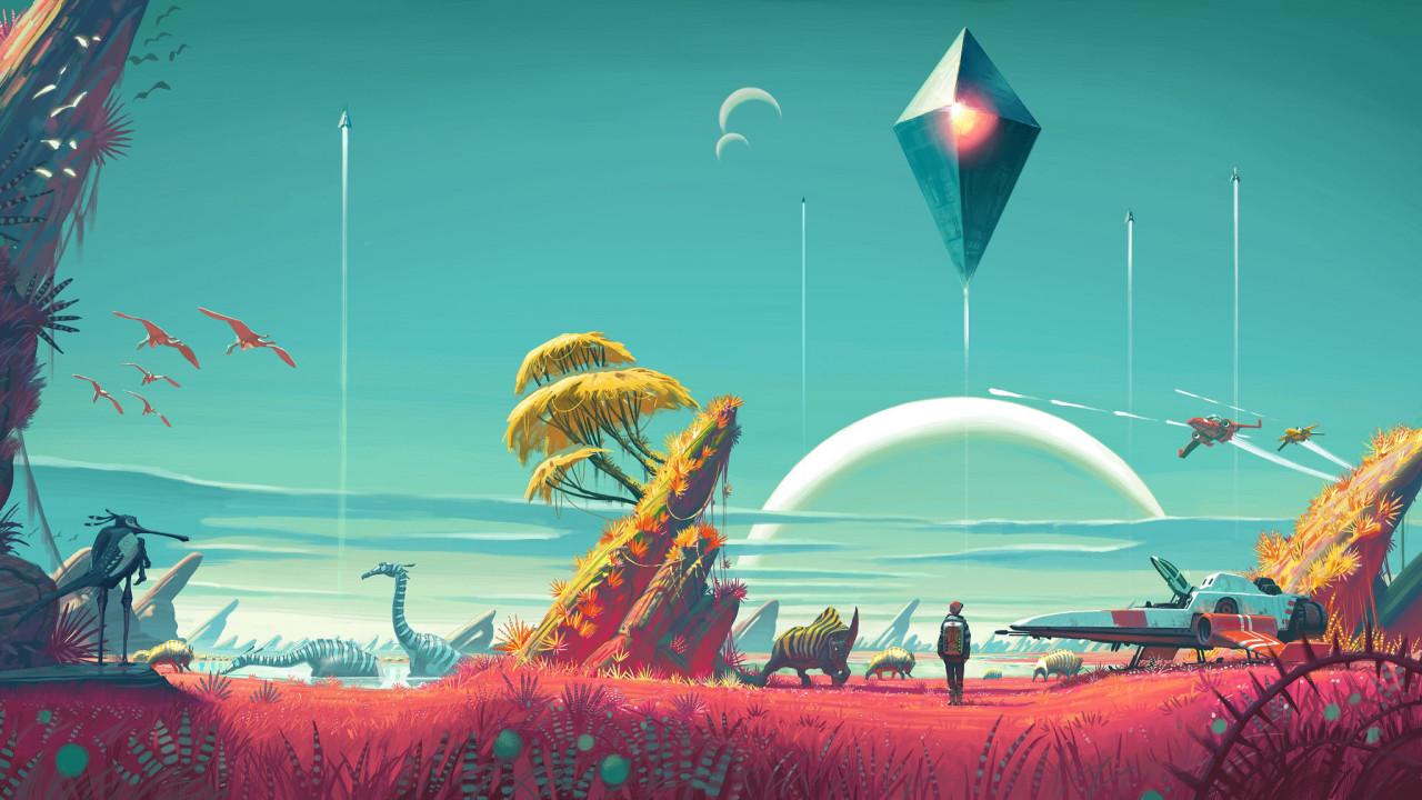 Hello Games har sluppet den første storoppdateringen for No Man's Sky.