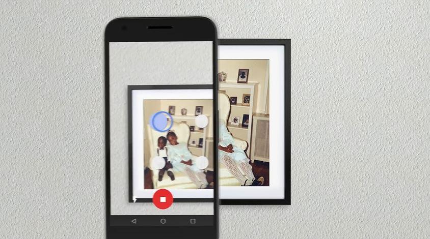 Google lover høykvalitets digitalisering av de fremkalte bildene dine.