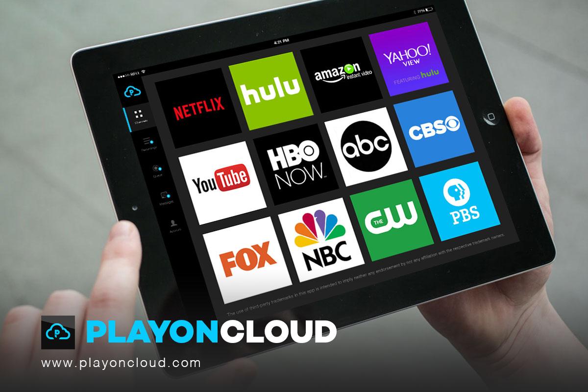 PlayOn Cloud åpner en web-sesjon og laster ned filmer og serier fra skjermen - altså uten å laste ned noen filer.