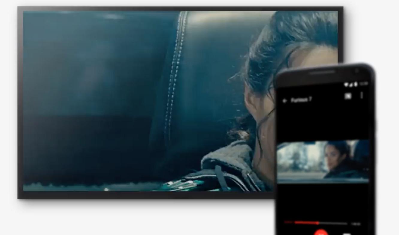 Mobilen eller nettbrettet er helt sentral for å sende innholdet til Ultra.