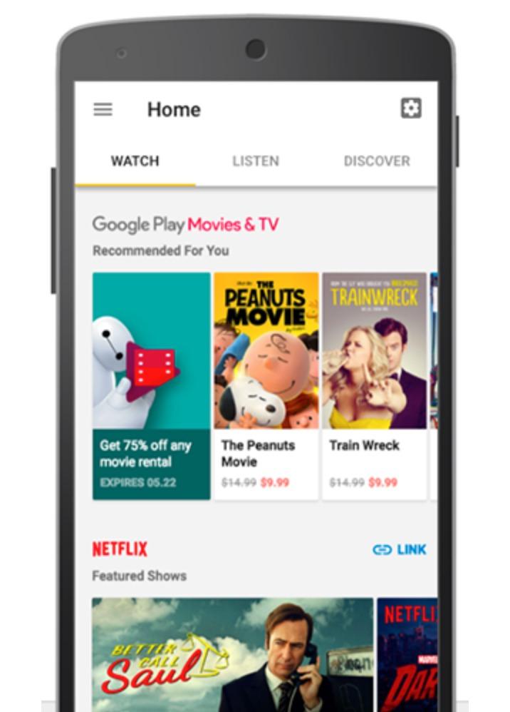 Google Home-appen sender innholdet til Ultra.