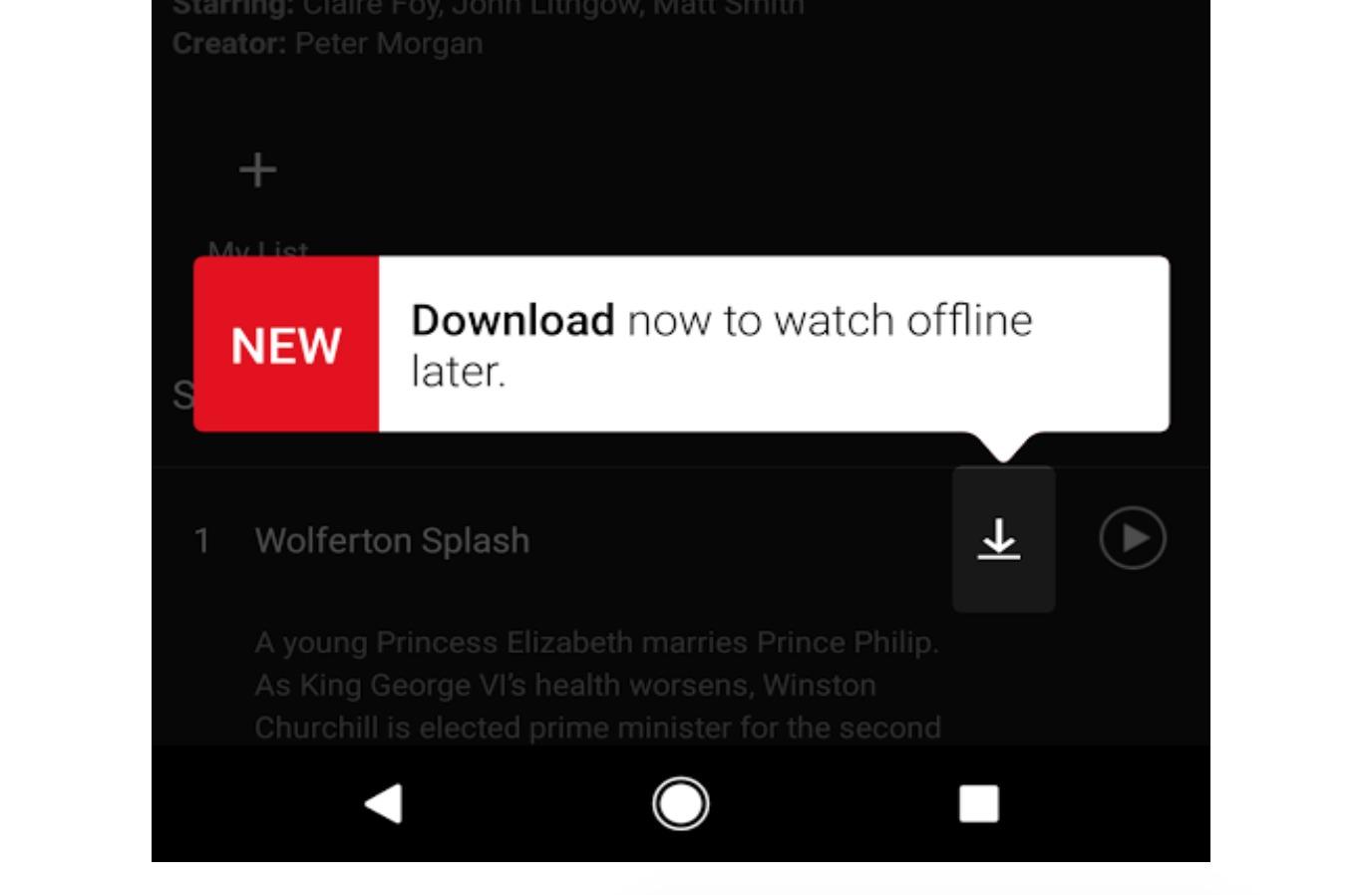 Uansett Netflix-abonnement har du nå mulighet til å laste ned utvalgt innhold til din enhet.