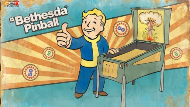 Zen pinball kommer i Bethesda-versjon - komplett med brett for Doom, Fallout og Skyrim.