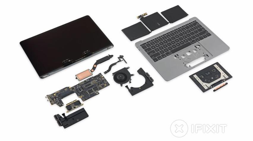 Dette skjuler seg på innsiden av nye MacBook Pro.