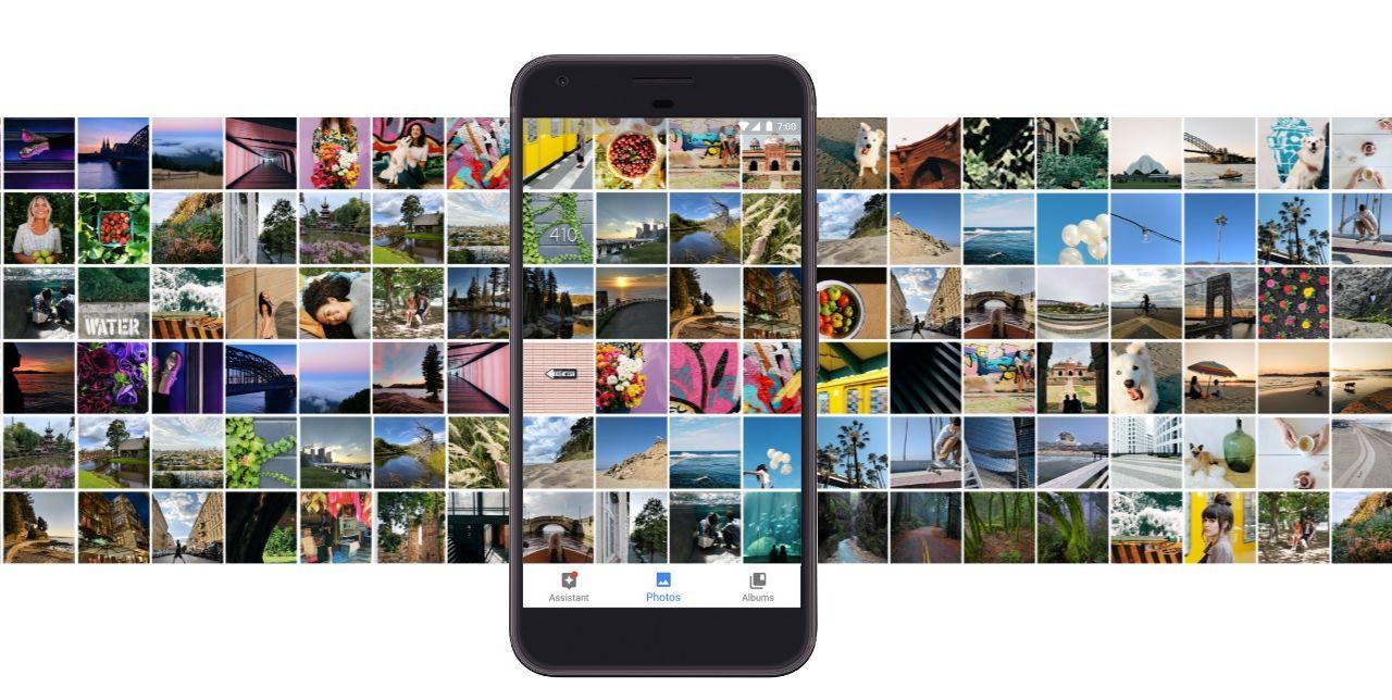 Google Pixel er en av enhetene som har Android 7.