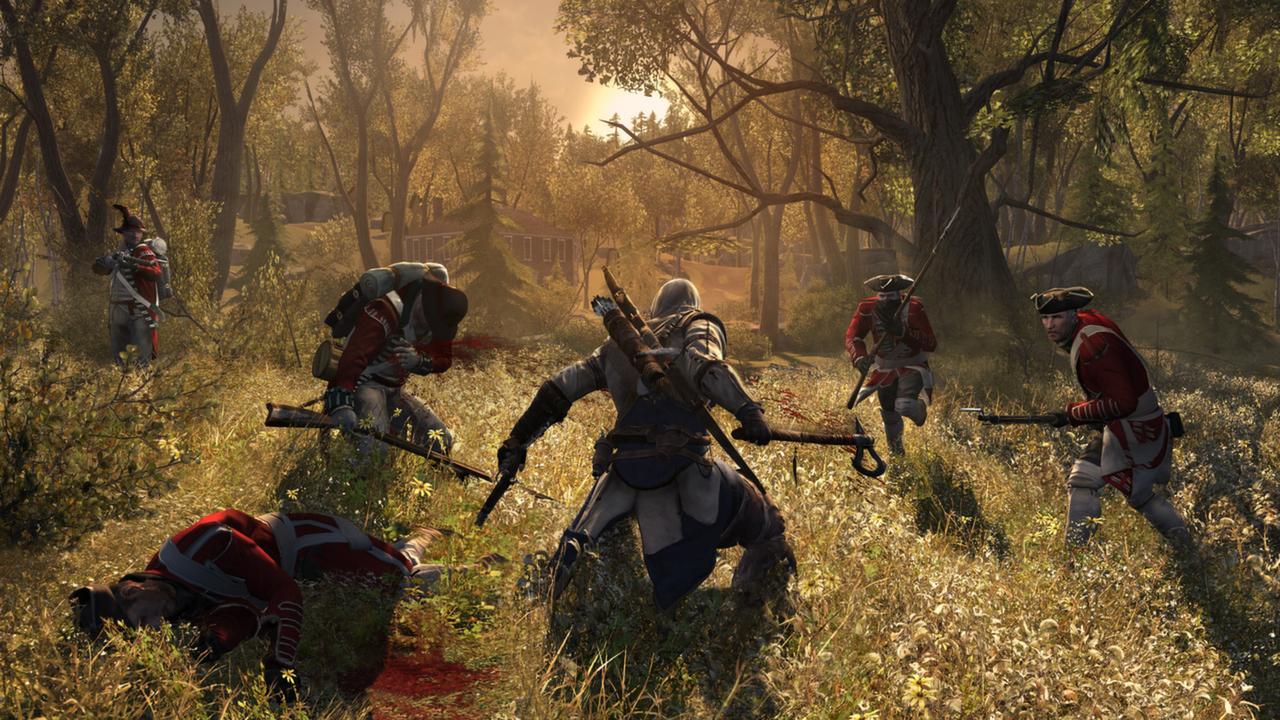 Assassin's Creed 3 er et av spillene Ubisoft deler ut til PC-spillerne.