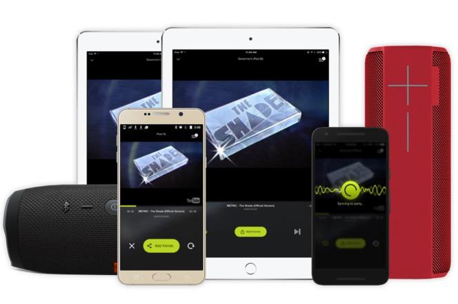 AmpMe har nå lagt til støtte for Bluetooth-høyttalere.