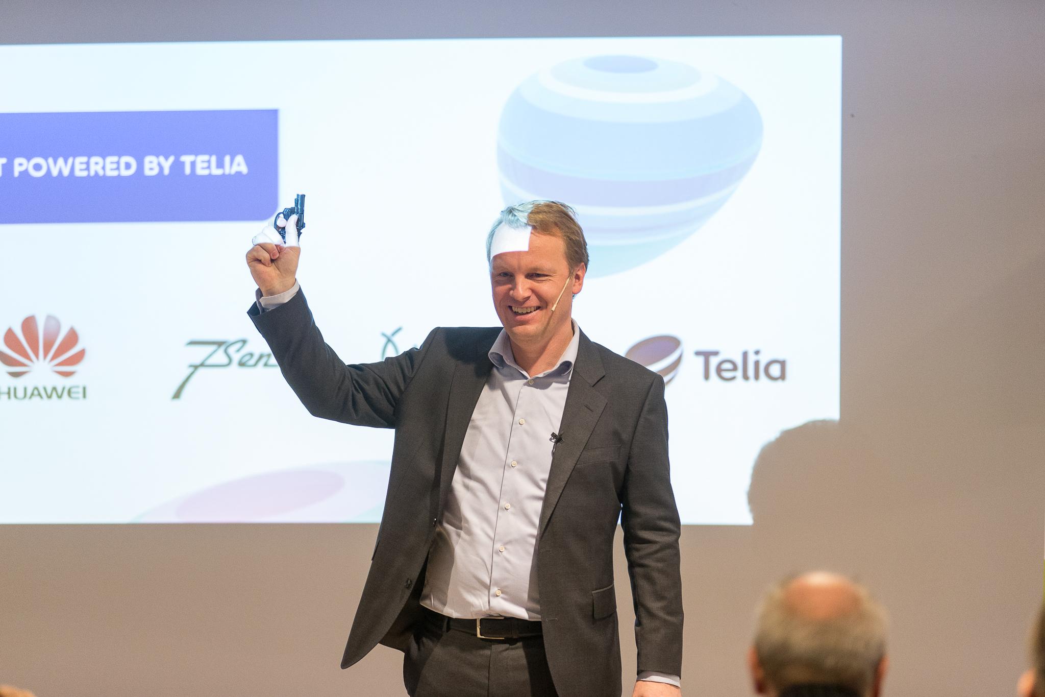 Her går startskuddet for Telias kommersielle satsning på IoT.