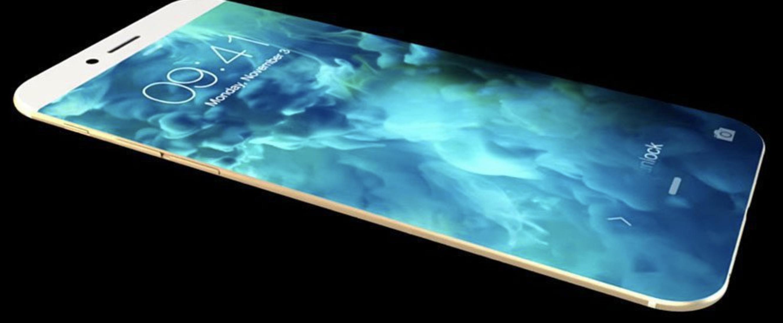 Nok et rykte peker på et dramatisk nytt design i neste års iPhone, mer likt Galaxy Edge-mobilene.
