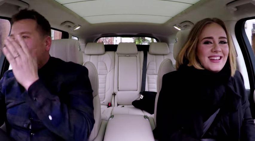 Carpool Karaoke med Adele er årets mest sette video på YouTube.