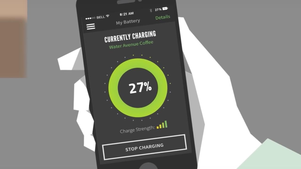 Energous jobber med en ladeteknologi for fjernlading.