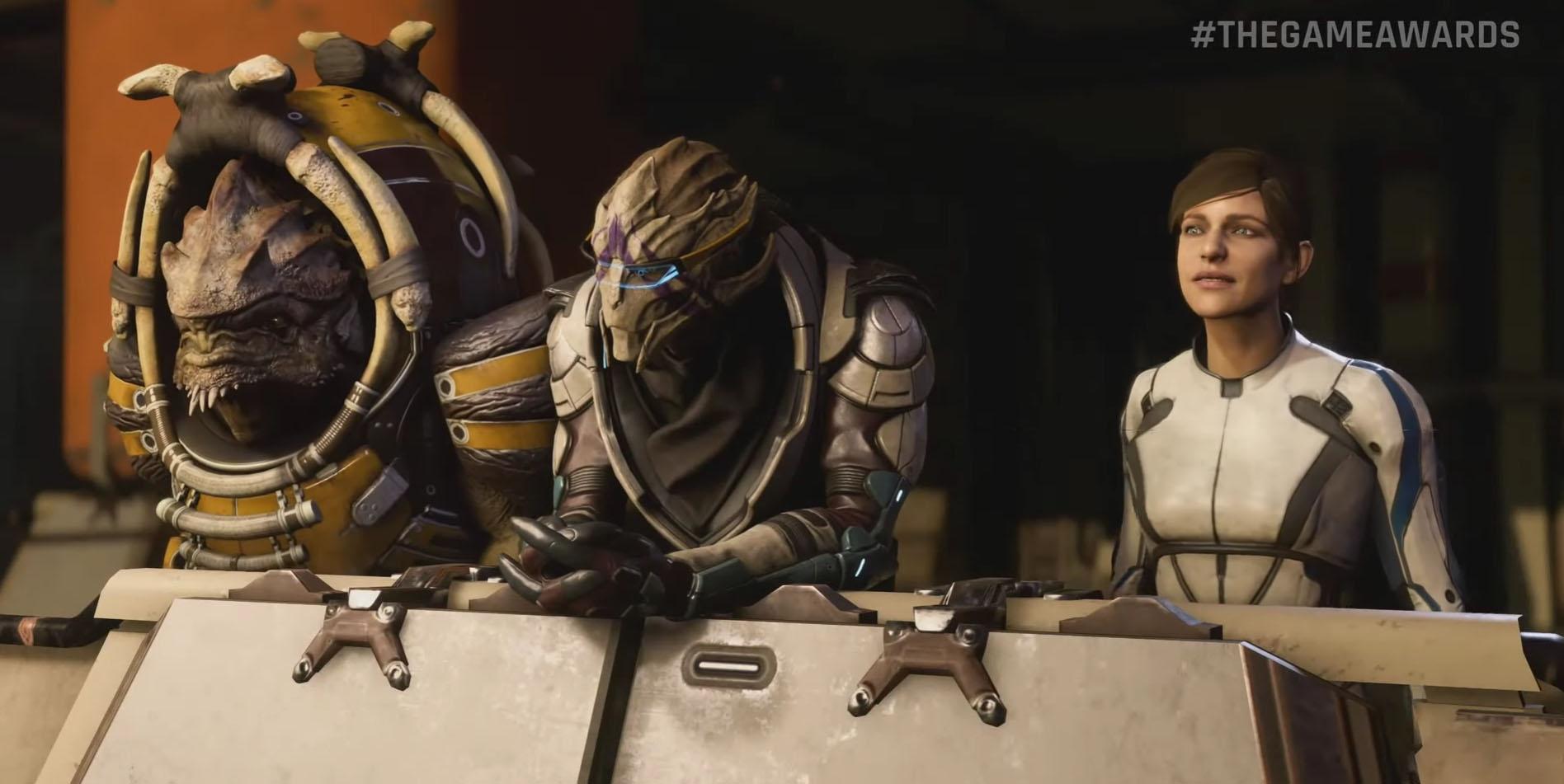 Mass Effect: Andromeda får kritikk for dårlig leppesynkronisering etter at spilltraileren ble lansert i går.