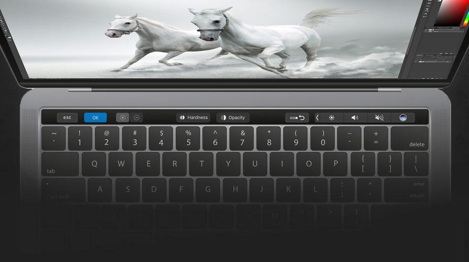 Photoshop er klare med støtte for Touch Bar bare noen knappe uker etter MacBook Pro-lanseringen