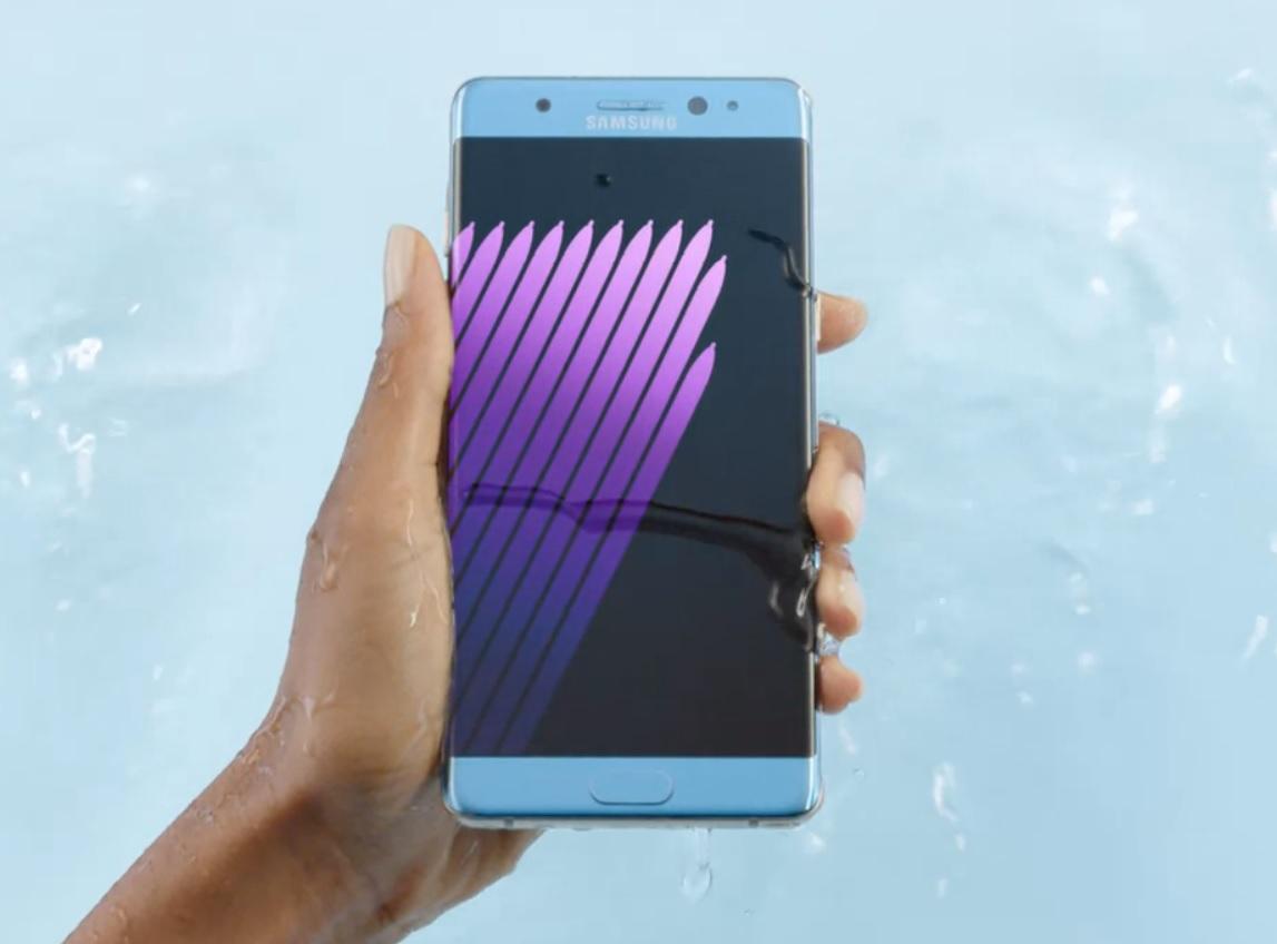 Det finnes mange muligheter å sikre informasjonen på Note7-mobilen din på.