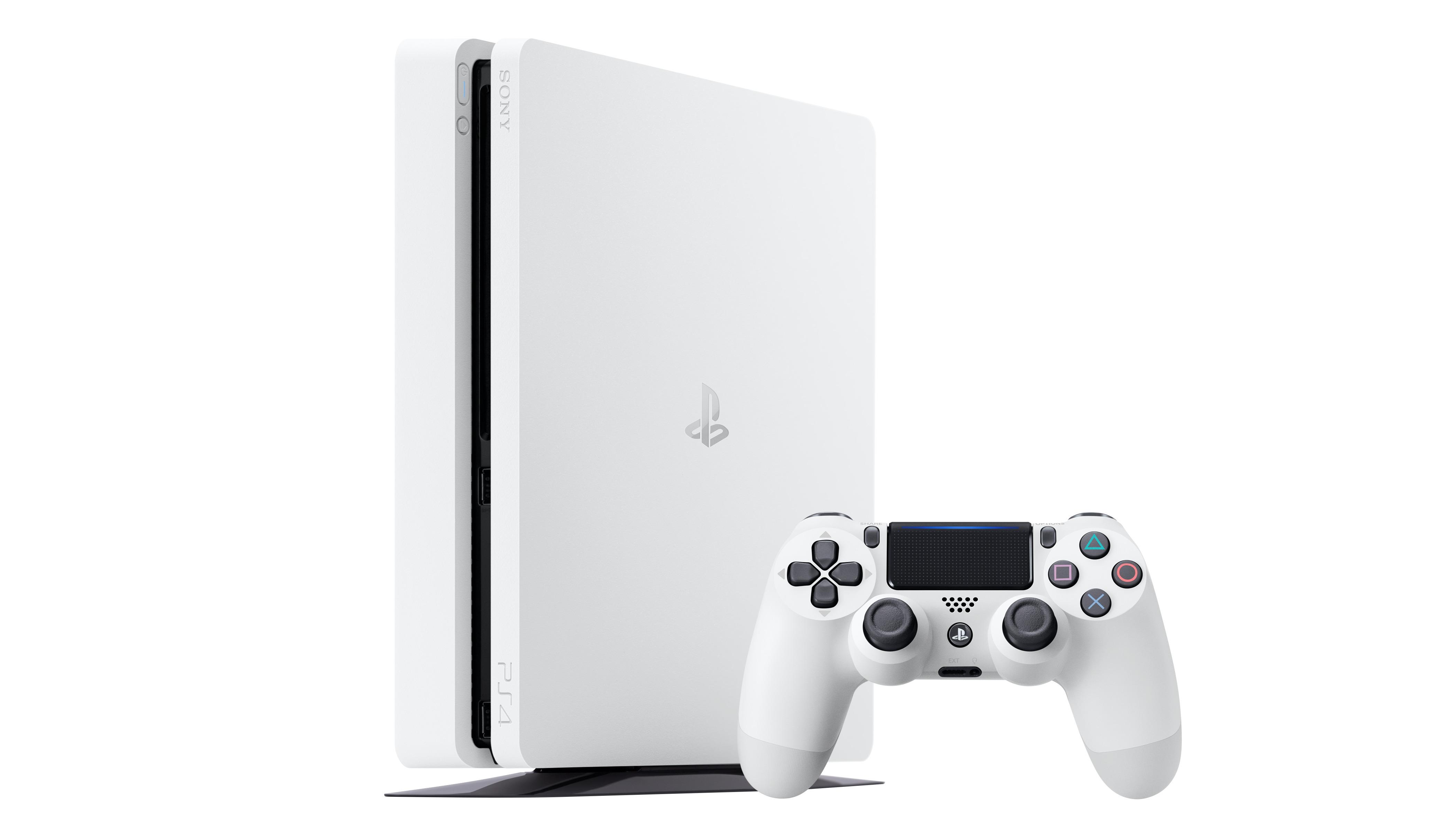 Nå er PlayStation 4 slim også hvit.
