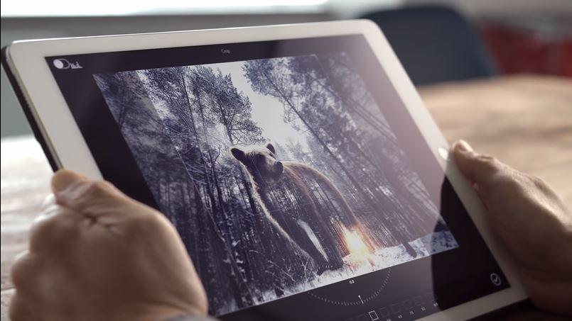 I Adobes nye konsept kan man gjøre enkle redigeringer med stemmen.
