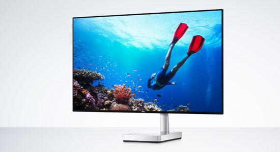 Dell Ultrathin 27 er en svært lekker og tynn PC-skjerm.