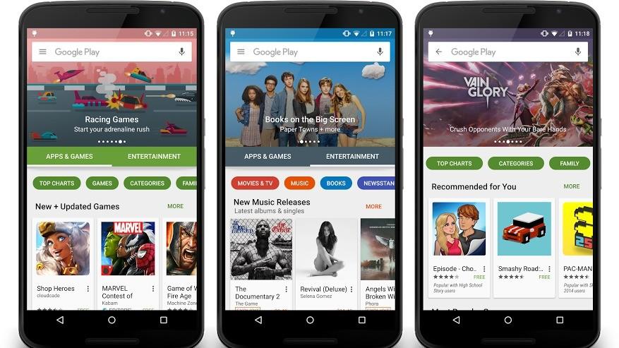 I fremtiden kan du kjøre Android-apper uten å laste dem ned.