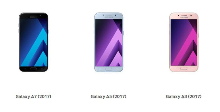 Samsungs nye A-serier kommer til Russland først, og så følger resten av verden etterpå.