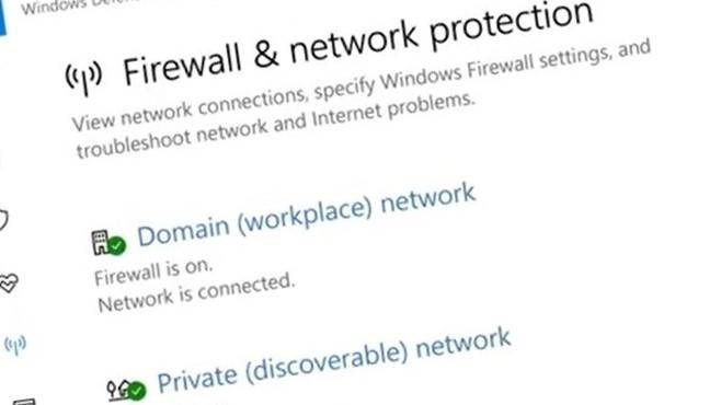 Windows-brannmuer blir omsider tilgjengelig i Innstillinger.