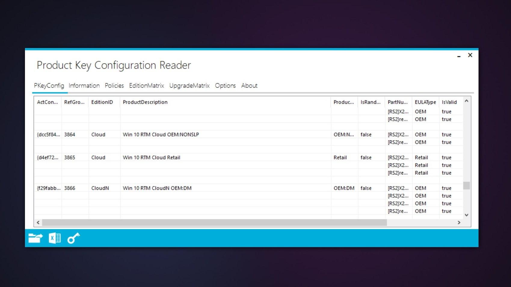 Det har dukket opp tre versjoner av Windows 10 Cloud i Windows 10 Build 15019.