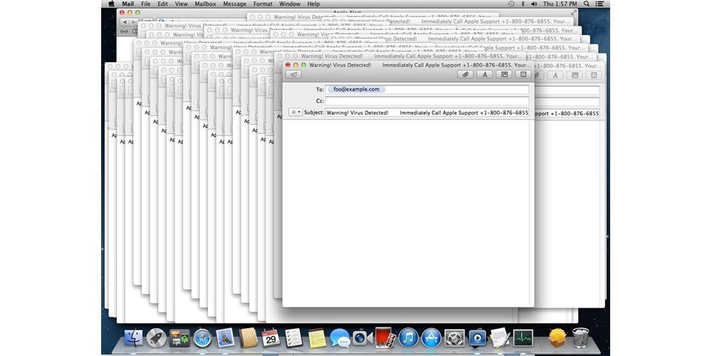 Du bør øyeblikkelig oppdatere til nyeste MacOS.