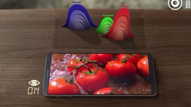 Personer The Guardian har vært i kontakt med, beskriver en Galaxy S8 med svært smale rammer.
