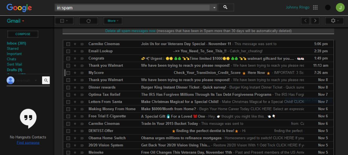 gmail-dark