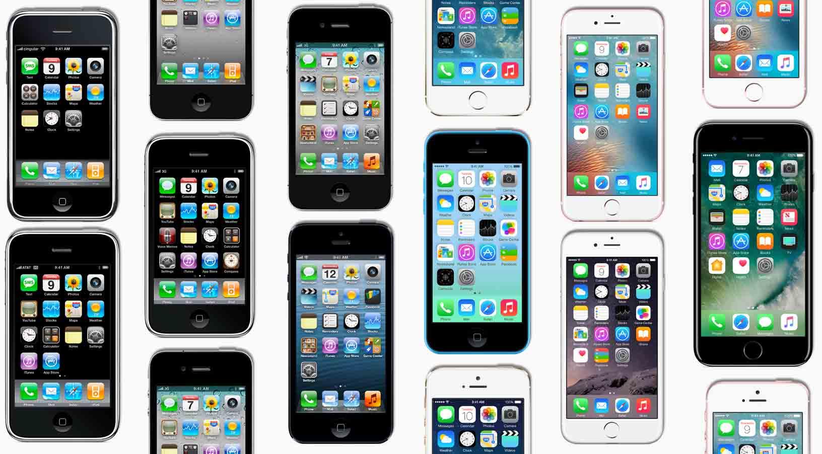 I dag er det ti år siden Steve Jobs viste frem den første iPhone-modellen.