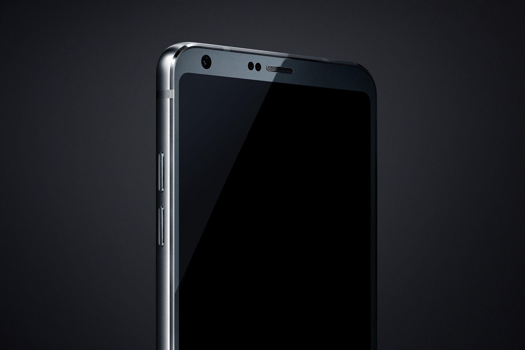 LG G6 er omtrent uten en ramme, får to-kamerasystem og fingersensor.