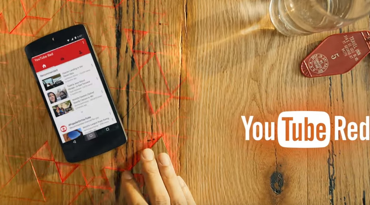 YouTube Red kommer til Europa i år.